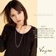 Vajra(ヴァジュラ) 2WAY♪スワロフスキーフラワー♪2連ネックレス♪ 【日本製】 - 縮小画像3