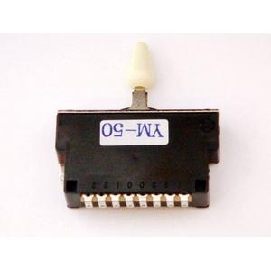 GP Factory(GPファクトリー) 5WAYレバースイッチ クローズ ミントグリーンボタン (エレキギターパーツ) - 拡大画像