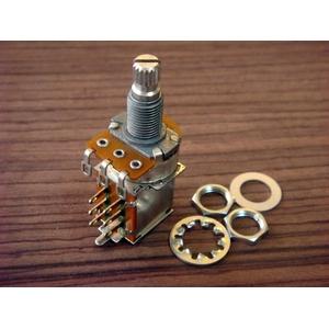 GP Factory(GPファクトリー) プッシュプルスイッチ付きポット 250KΩ Bカーブ (エレキギターパーツ) - 拡大画像