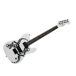 SPEAR(スピアー) エレキギター Halberd(ハルバード) Lizard White - 拡大画像