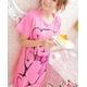 LeLeStyle(レレスタイル) キュートなくまのぬいぐるみ☆ピンクワンピシャツ - 縮小画像5