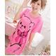 LeLeStyle(レレスタイル) キュートなくまのぬいぐるみ☆ピンクワンピシャツ - 縮小画像6
