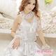 コスプレ 純白ウエディングドレス セット f408 - 縮小画像3