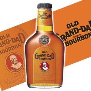【バーボン】ウイスキー オールドグランダッド 700ml - 拡大画像