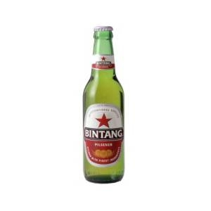 インドネシア【海外ビール】 BINTANG BEER ビンタンビール 24本入り - 拡大画像