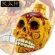 【テキーラ】 カー スカル 髑髏 デキャンタ レポサド 750ml 55度 KAH REPOSADO SKULL Tequila