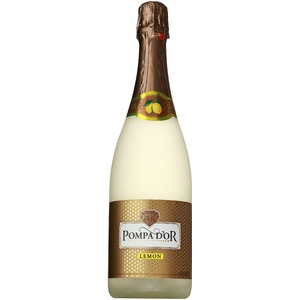 【スパークリングワイン】 ポンパドール Pompa Do'r ドライレモン 750ml スパークリングワイン  - 拡大画像