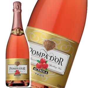 【スパークリングワイン】 ポンパドール Pompa Do'r アセロラ 750ml スパークリングワイン  - 拡大画像