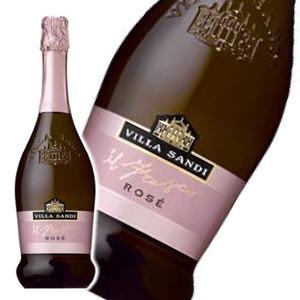 【スパークリングワイン】 ヴィッラ サンディ ロザードブリュット 750ml  ロゼ - 拡大画像