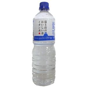富士山のおいしい水イオン水 1,000ml×15本/箱 【5年保存・防災備蓄可】 - 拡大画像
