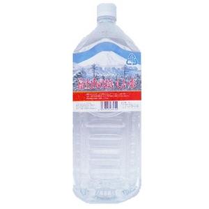 富士山のおいしい水イオン水 2,000ml×6本/箱 【5年保存・防災備蓄可】 - 拡大画像