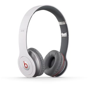 Beats by Dr. Dre Beats Solo HD オンイヤー・ヘッドフォン with コントロールトーク/ホワイト BT ON SOLOHD WHT - 拡大画像
