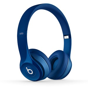 Beats by Dr. Dre Solo2 Wireless Blue 密閉型ワイヤレスオンイヤーヘッドホン ブルー - 拡大画像