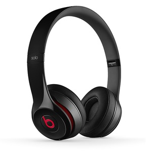 Beats by Dr. Dre Solo2 Wireless Black 密閉型ワイヤレスオンイヤーヘッドホン ブラック - 拡大画像
