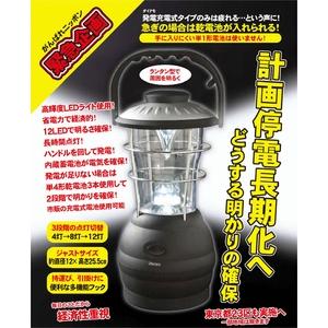 ランタン型LEDライト 2WAY電源タイプ - 拡大画像