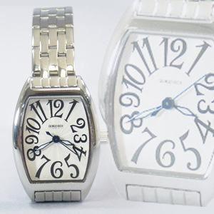 ジョルジュレッシュ 婦人 3針メタル腕時計 GR-14002-01 シルバー(黒) - 拡大画像