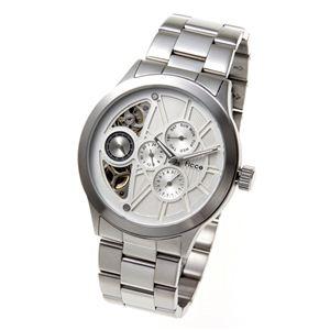 Ficce(フィッチェ) 腕時計 ツインムーブ マルチファンクション FC-11050-01 ホワイト - 拡大画像