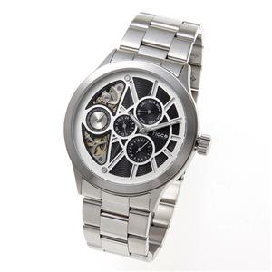 Ficce(フィッチェ) 腕時計 ツインムーブ マルチファンクション FC-11050-02 ブラック - 拡大画像