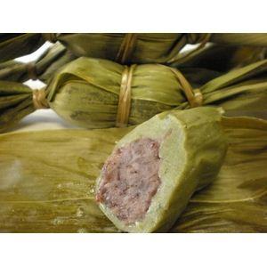 新潟名物伝統の味!笹団子 つぶあん10個 + こしあん10個 計20個セット - 拡大画像