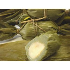 新潟名物伝統の味!笹団子 みそあん10個 + 黒ゴマあん10個 計20個セット - 拡大画像