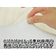 くせになるもちもち感 マイクロビーズ使用抱き枕 クリーム 日本製 - 縮小画像4