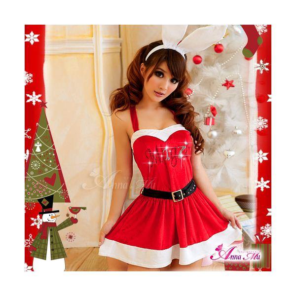 【クリスマスコスプレ 衣装】サンタクロース セット/コスチューム/s007