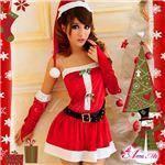 【クリスマスコスプレ】サンタクロース セット/コスチューム/s005