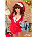 【クリスマスコスプレ 衣装】サンタクロースコスプレセット/コスチューム/s021 border=