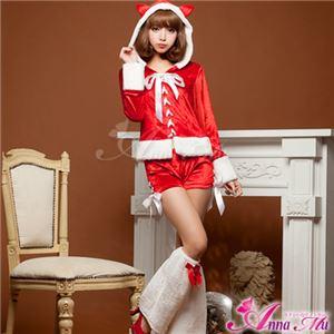 【クリスマスコスプレ 衣装】サンタクロースコスプレセット/コスチューム/s023 - 拡大画像