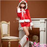 【クリスマスコスプレ 衣装】サンタクロースコスプレセット/コスチューム/s023 border=