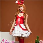 【クリスマスコスプレ 衣装】サンタクロースコスプレセット/コスチューム/s026