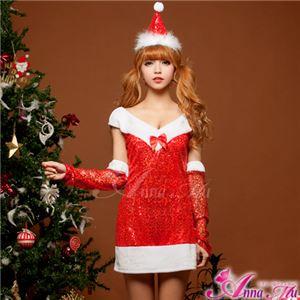 【クリスマスコスプレ 衣装】サンタクロースコスプレセット/コスチューム/s027 - 拡大画像