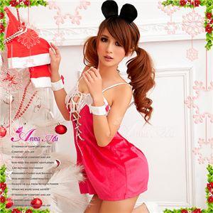 【クリスマスコスプレ 衣装】サンタクロースコスプレセット/コスチューム/s033 - 拡大画像