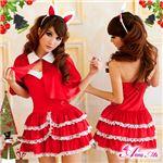 クリスマス☆サンタクロースコスプレセット/コスチューム/s004