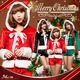 【サンタ】s023/コスチューム/コスプレ衣装/クリスマス/制服/サンタ衣装 s023bk カラー:ブラック - 縮小画像1