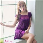 セクシーランジェリー ベビードール z1571 紫