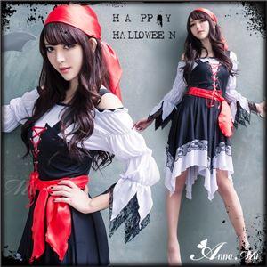 コスプレ 海賊 パイレーツ 衣装 ハロウィン コスチューム 仮装 z1693 - 拡大画像