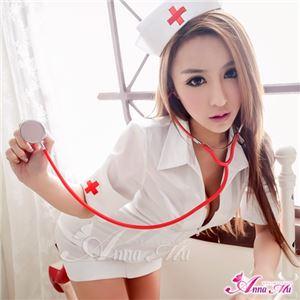 コスプレ コスチューム ナース ナース服 看護婦 衣装 制服 医者 女医 白衣 ミニワンピ 前開き 白コスチューム コス z1548 衣装