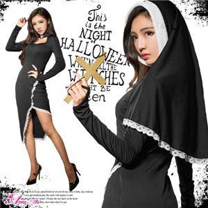 ハロウィン コスプレ シスター 修道女 教会 コスチューム コスプレ衣装 セット 全身 ペア セクシー 変装 仮装