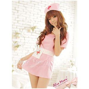コスプレ ランジェリー コスチューム ナース ナース服 看護婦 z383 ピンク