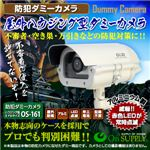 【防犯用ダミーカメラ 屋外】屋外ハウジング型 (ミドルサイズ) オンサプライ(OS-161)