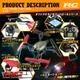 【RCオリジナルシリーズ】小型カメラ搭載ラジコン クアッドコプター ドローン 2.4GHz 4CH対応 6軸ジャイロ搭載 3Dアクション フリップ飛行『FUTURE BATTLESHIP』(OA-1740) VGA 60FPS - 縮小画像4