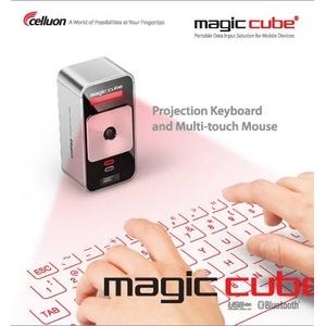 CELLUON(セルオン) 次世代レーザーキーボード magic cube(マジックキューブ) - 拡大画像
