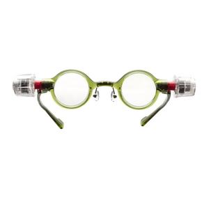 adlens(アドレンズ) 度数が調節できる眼鏡 ピーオーヴィー(adlens p.o.v) グリーン - 拡大画像