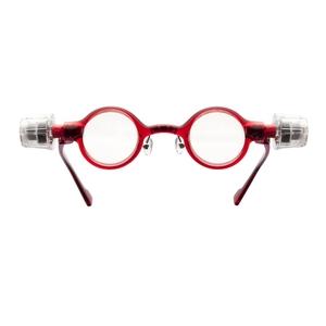 adlens(アドレンズ) 度数が調節できる眼鏡 ピーオーヴィー(adlens p.o.v) レッド - 拡大画像