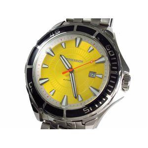 IMMERSION(イマージョン) 腕時計 メンズ 200m防水ダイバーズ 6876S - 拡大画像
