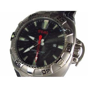 IMMERSION(イマージョン) 腕時計 メンズ 300m防水 自動巻き ダイバーズ 6845 - 拡大画像