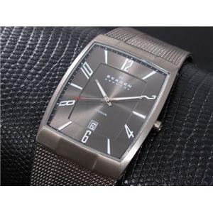 SKAGEN(スカーゲン) 腕時計 チタン メンズ 851LTTM - 拡大画像
