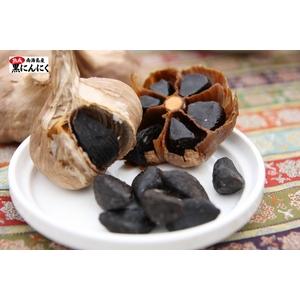 とっても甘くて食べやすい♪ 本場韓国【南海島】の熟成黒にんにく (大玉 200g入り) - 拡大画像