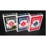 【トランプ】BICYCLE(バイスクル) ライダーバック ポーカーサイズ 【ブラック】【2個セット】